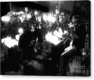 Night Music Canvas Print by Felipe Adan Lerma