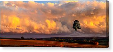 Night Of The Vader Canvas Print
