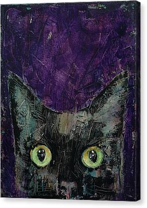 Night Prowler Canvas Print by Michael Creese