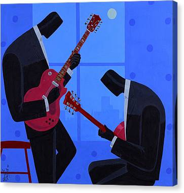 Night Rhythms Canvas Print by Darryl Daniels
