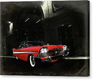 Night Ride Canvas Print by Steven Agius