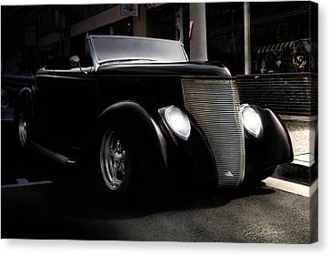 Night Rod Canvas Print by Peter Chilelli