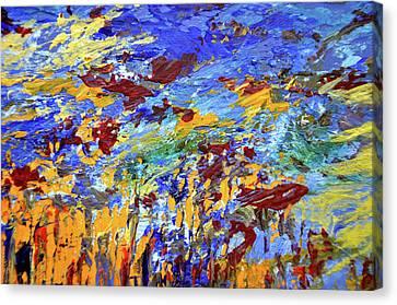 Night Sea Scape Canvas Print