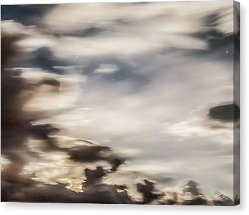 Canvas Print featuring the photograph Night Sky 2 by Leland D Howard