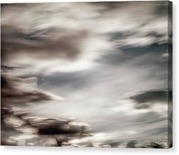 Canvas Print featuring the photograph Night Sky 3 by Leland D Howard