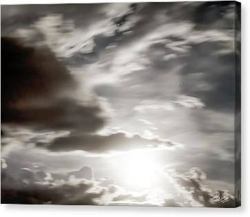 Canvas Print featuring the photograph Night Sky 5 by Leland D Howard
