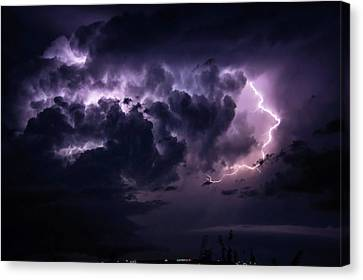 Night Storm Canvas Print