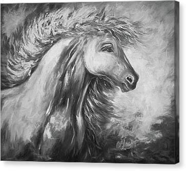 Night Storm Canvas Print by Art OLena