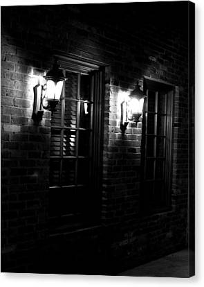 Night Time Canvas Print by Maggy Marsh