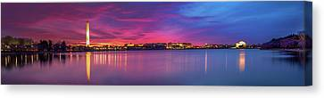 Canvas Print featuring the photograph Night Unto Day by Edward Kreis