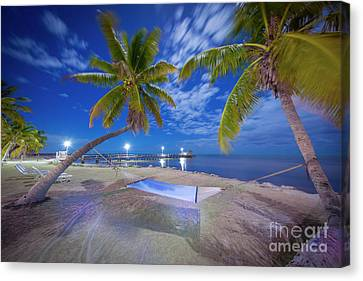 Night Vibes Canvas Print by Marco Crupi