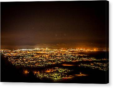 Night View Canvas Print by Hyuntae Kim
