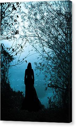 Ghost Canvas Print - Nightfall by Cambion Art