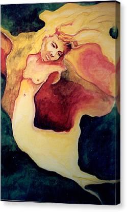 Nightingale Canvas Print by Erika Brown