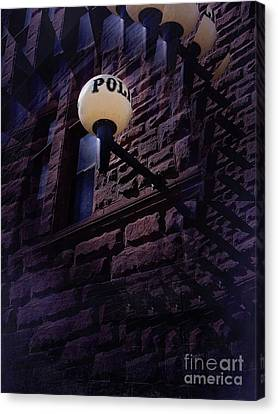 Nightly Incarcerations Canvas Print by The Stone Age
