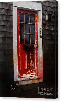 Goulish Canvas Print - Nightmare Behind 108... by Rene Crystal