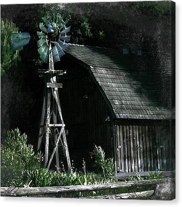 Nightmill Canvas Print by Monroe Snook