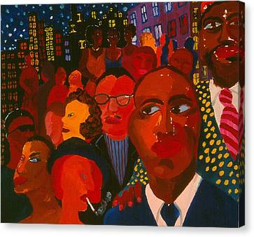 Nightpeople Canvas Print by Nina Talbot