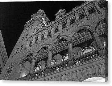 Nights At Main Street Station Canvas Print