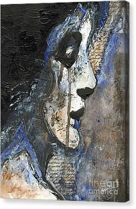Night's Poem Canvas Print by Callan Percy
