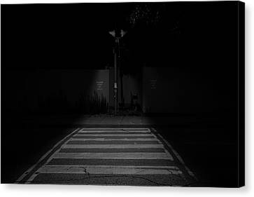 Nightwalk Canvas Print by Kreddible Trout