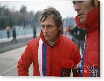 Niki Lauda. 1972 United States Grand Prix Canvas Print by Oleg Konin