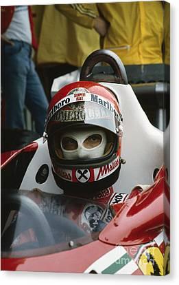 Niki Lauda. 1977 Austrian Grand Prix Canvas Print