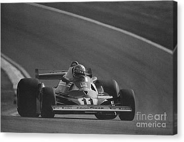 Niki Lauda. 1977 French Grand Prix Canvas Print