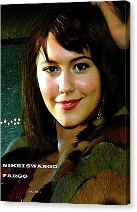 Nikki Swango, Fargo Season 3, Mary Elizabeth Winstead, Passion For Competitive Bridge Canvas Print