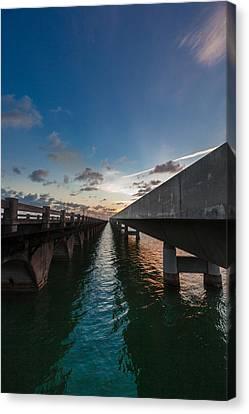 Us1 Canvas Print - Niles Summer Sunset by Dan Vidal