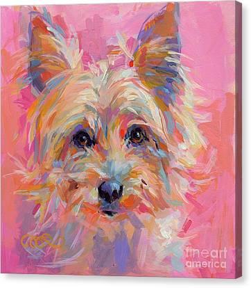 Tendrils Canvas Print - Nina by Kimberly Santini