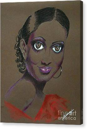 Nina Mae -- African-american Actress Portrait Canvas Print
