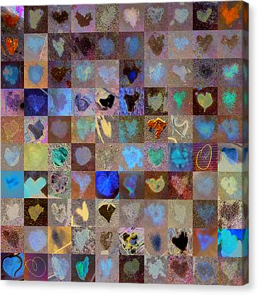 Nine Hundred Series Canvas Print by Boy Sees Hearts