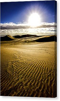 Ninety Mile Beach Canvas Print by Tiarnan Colgan
