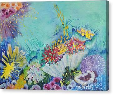 Ningaloo Reef Canvas Print
