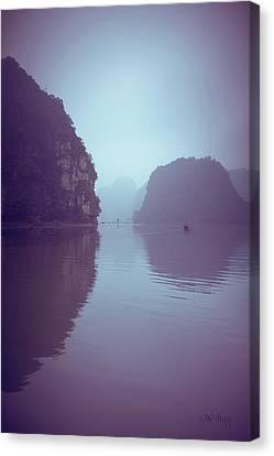 Ninh Binh River Canvas Print by Joseph Westrupp