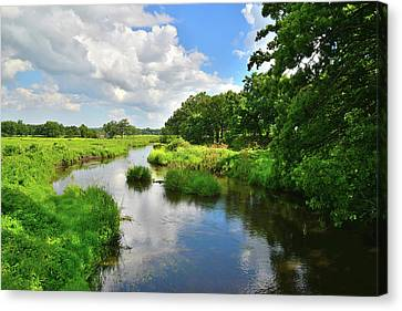 Nippersink Creek Reflection Canvas Print