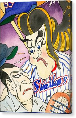 Nippon Baseball  Canvas Print by Robert  Myers