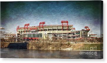 Nissan Stadium Canvas Print