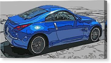 Nissan Z Car Canvas Print by Samuel Sheats
