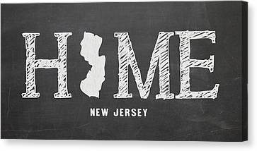 Nj Home Canvas Print by Nancy Ingersoll
