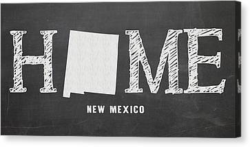Nm Home Canvas Print by Nancy Ingersoll