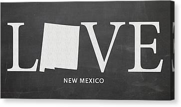 Nm Love Canvas Print by Nancy Ingersoll