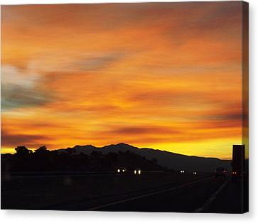 Nm Sunrise Canvas Print