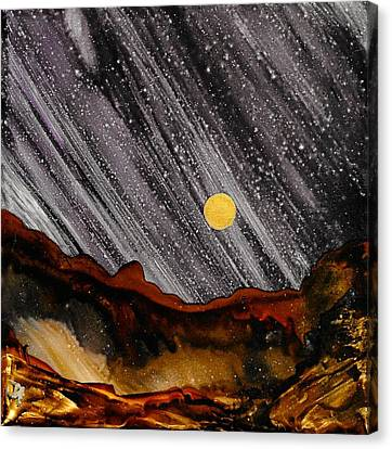 No. 23 Canvas Print by Jen Amaya