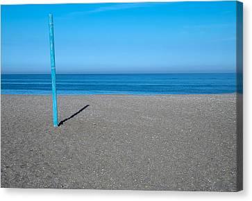 No Boat Over Yonder Canvas Print by Piet Scholten