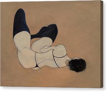 No Couture Needed Canvas Print by Antonio Ortiz