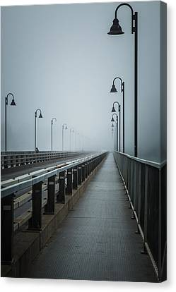 Mystic Setting Canvas Print - No Ending by Pierre Cornay