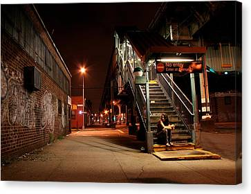 No Entry Canvas Print by Jason Hochman