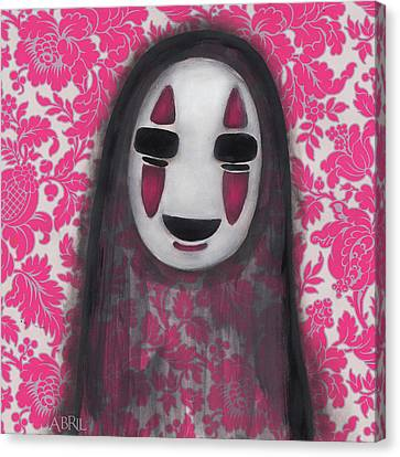 No Face  Canvas Print by Abril Andrade Griffith